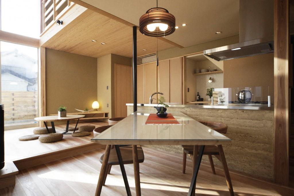 無垢材 西川材 土の家 ワイズ 建築 自然素材